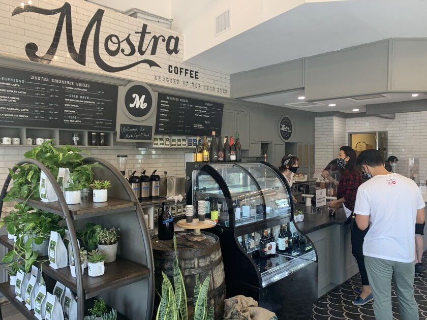 Mostra Coffee opens a new location in 4S Ranch this week.