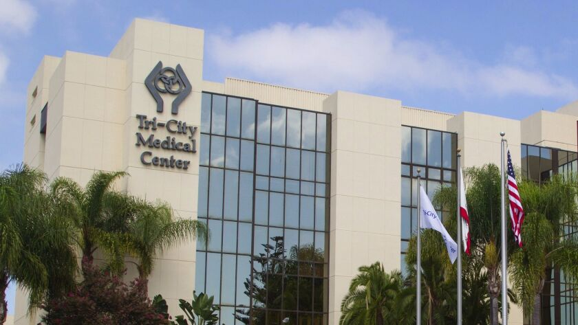 Tri-City Medical Center in Oceanside has one of the busiest emergency rooms in San Diego County. EDU