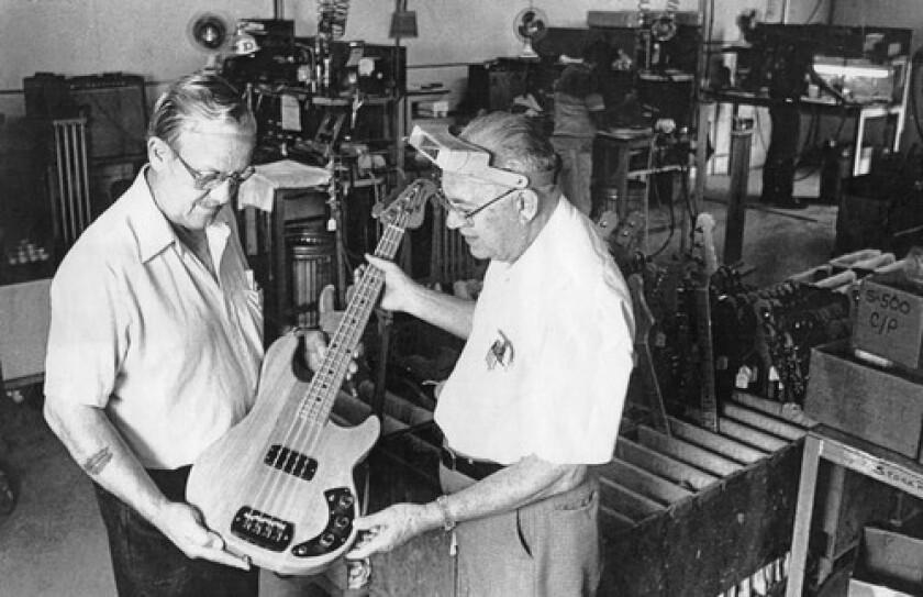 George Fullerton and Leo Fender