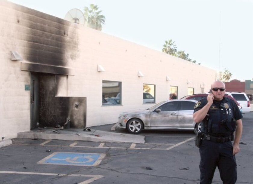 Explosion at Arizona Social Security office forces evacuation