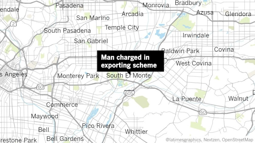South El Monte man charged with illegally exporting cesium atomic clocks