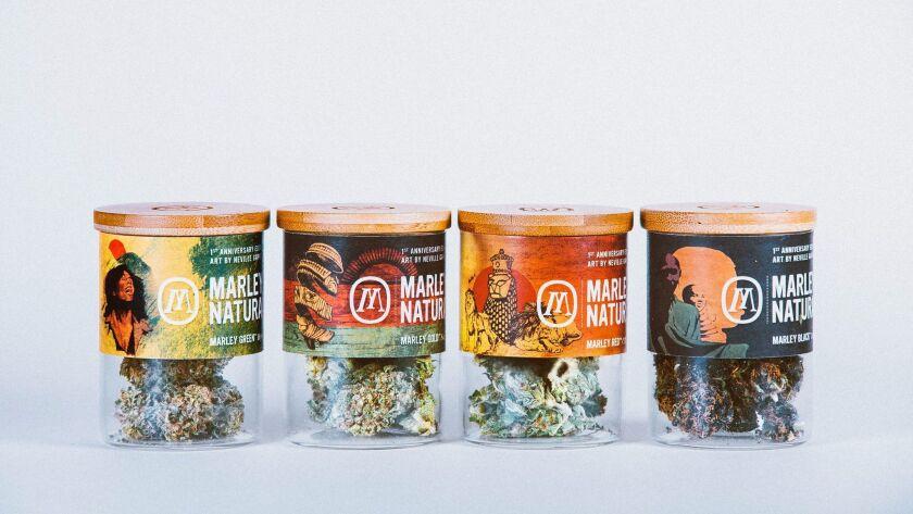 Marley Natural cannabis collection