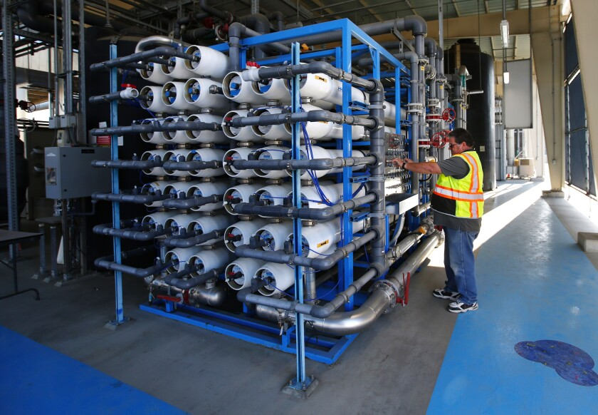 The Pure Water water recycling project.