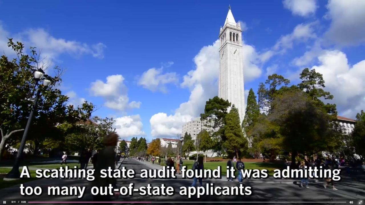 UC proposes its first enrollment cap — 20% — on out-of-state