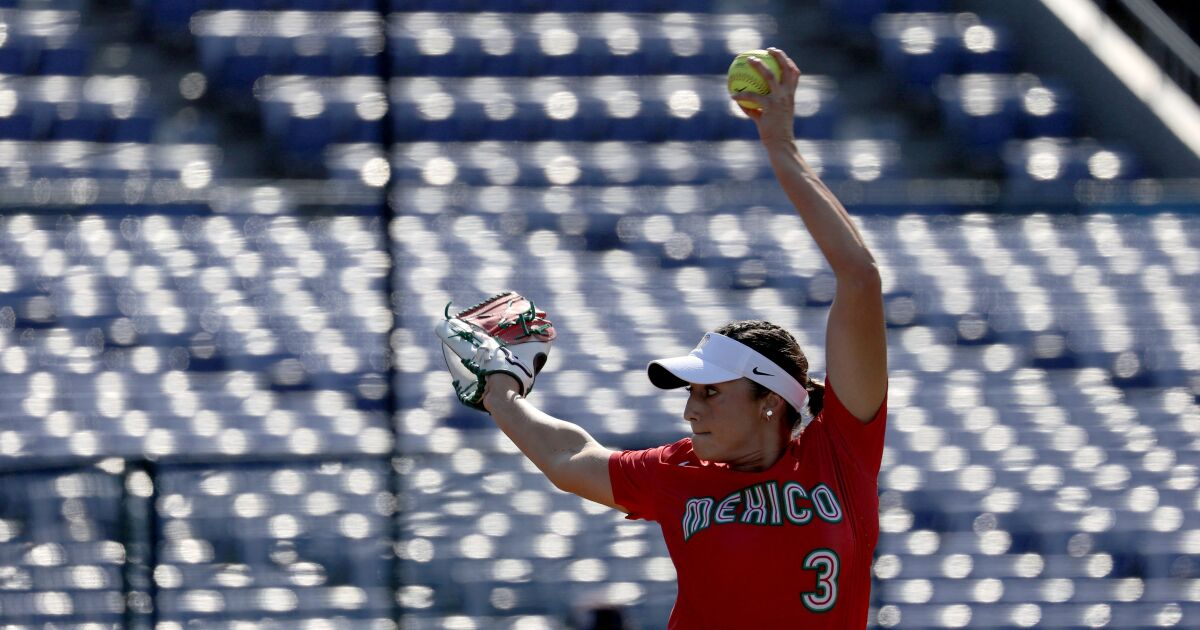 Mexico's Olympic softball team is made in the USA