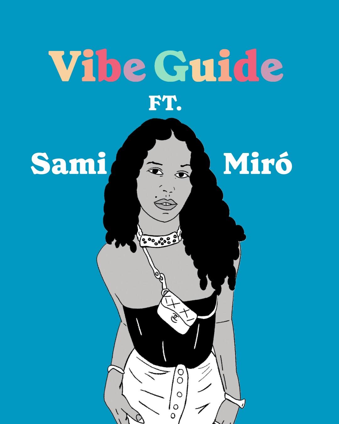 Illustration of Sami Miró