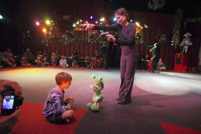 In a world of change, dancing puppets still delight