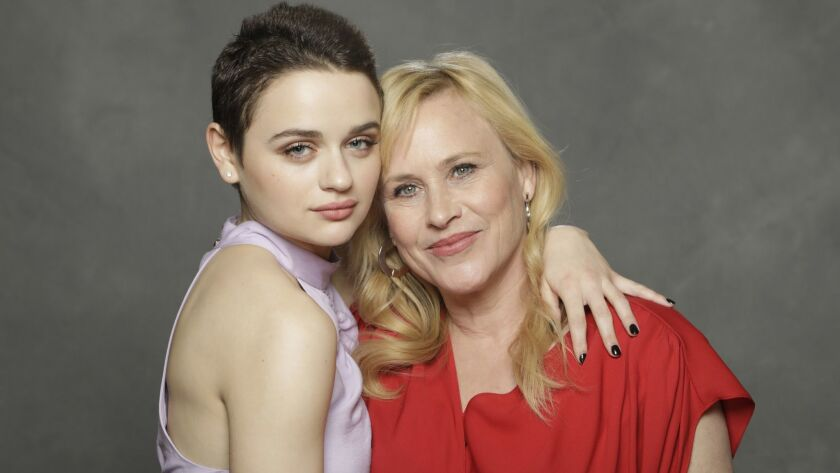 "Joey King, left, and Patricia Arquette star in ""The Act."""
