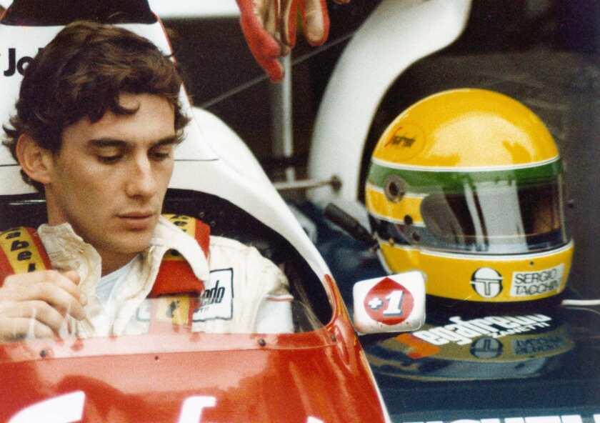 "Formula One great Ayrton Senna in ""Senna."""