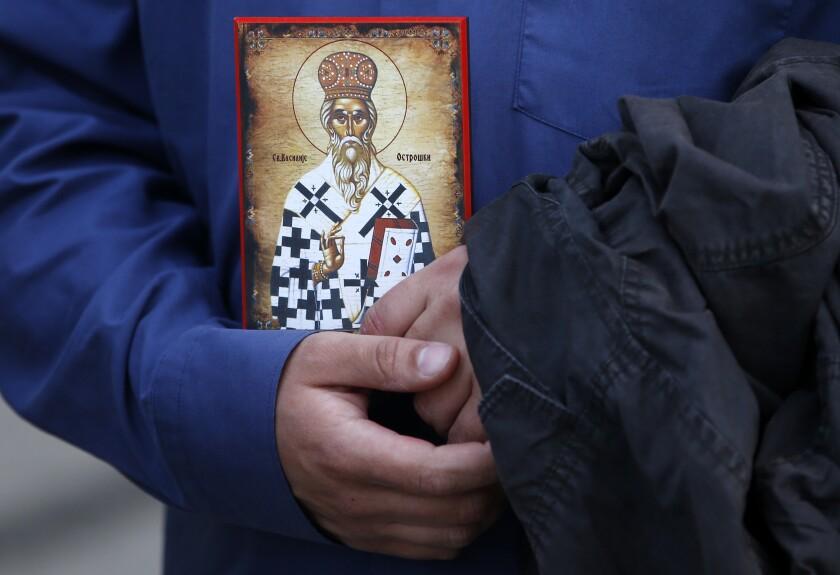 Serbia Montenegro Church Dispute