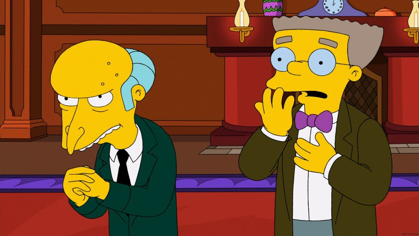 "It's not easy being a chief executive, even if you're Mr. Burns. But what is ""fair"" compensation for people holding the job?"