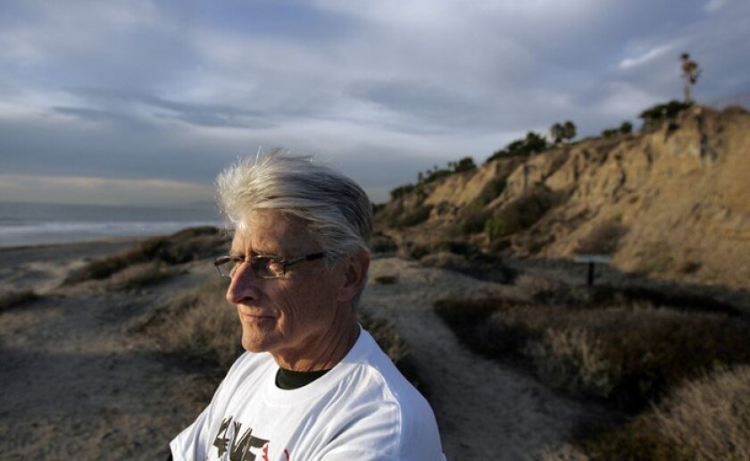 Trestles surfer Jerry Collamer has advocated against a toll road for a decade. His words of warning took time to catch on, but eventually the opposition reached a fever pitch.