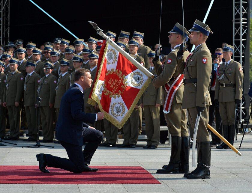 Poland's President Andrzej Duda