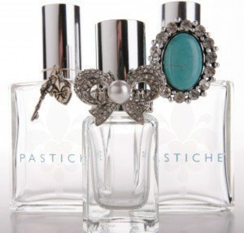 Pastiche custom-made perfumes. Courtesy photos