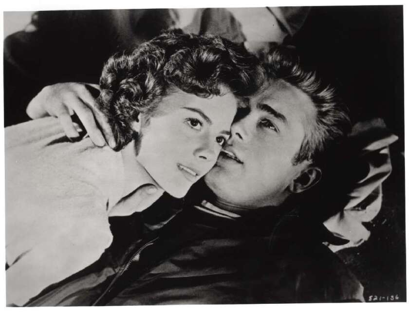 """The world restoration premiere of """"Rebel Without a Cause,"""" with Natalie Wood and James Dean, is set for Nov. 1 at LACMA"""