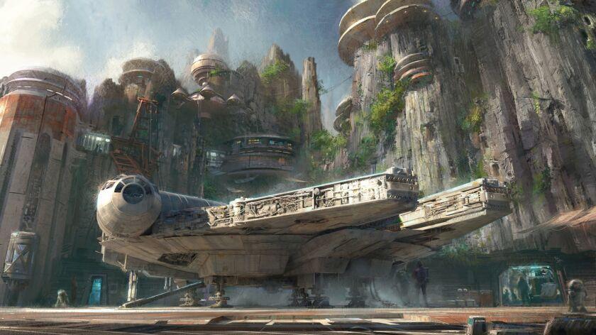 Disney's new Star Wars land