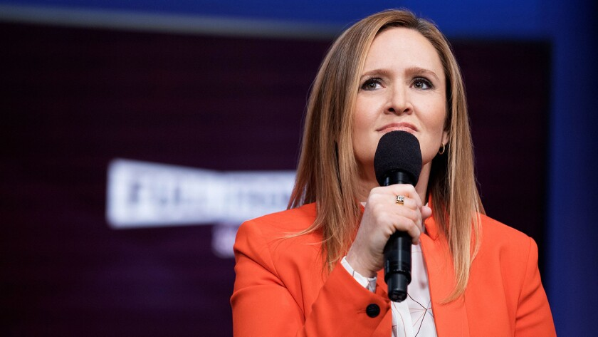 """Samantha Bee will interview President Obama in a new episode of """"Full Frontal With Samantha Bee"""" on TBS."""