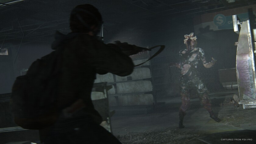 """A scene from """"The Last of Us Part 2."""""""