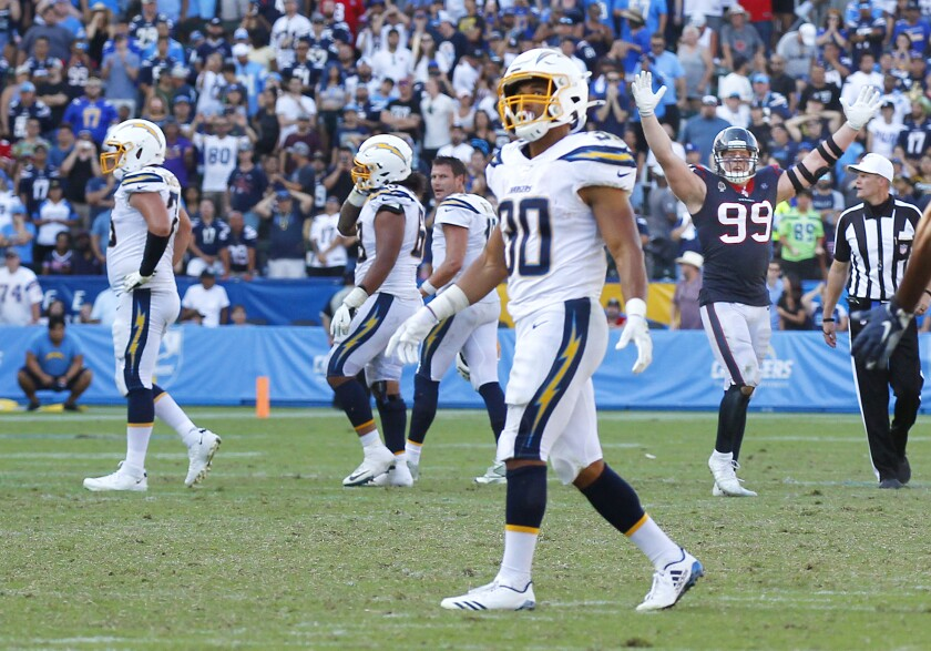 Chargers vs. Texans 9/22/19