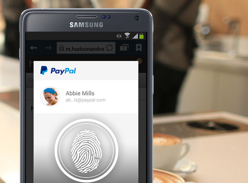 The ability to approve a transaction on the Samsung Galaxy S5's PayPal app is one of what the FIDO Alliance hopes is many enhancements in account security.