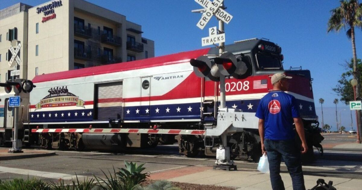 Railroad 'quiet zone' on target for 2019 finish - The San Diego