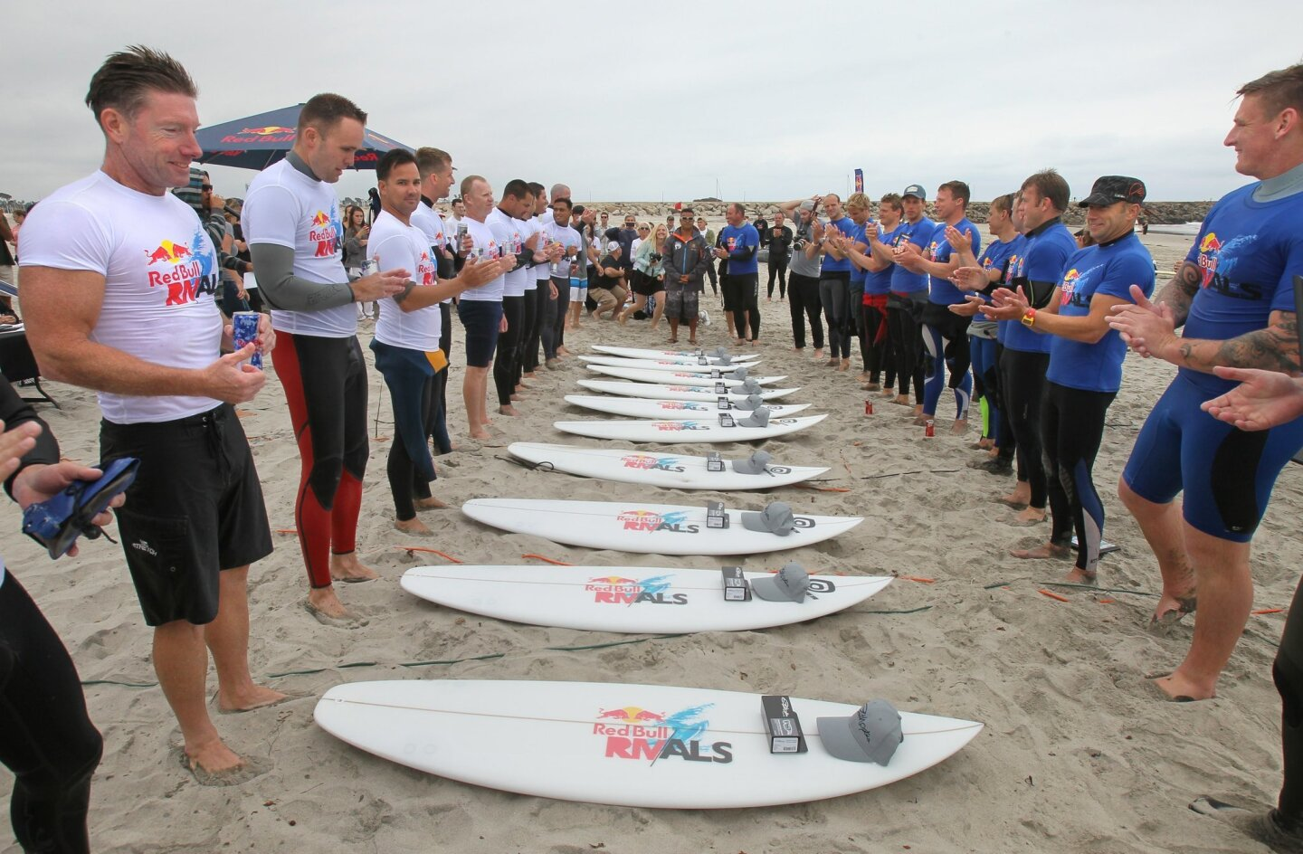 Red Bull Rivals military surf tournament