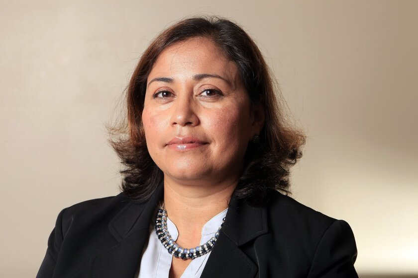 Norma Chavez-Peterson was named Tuesday as executive director of the ACLU of San Diego & Imperial Counties.