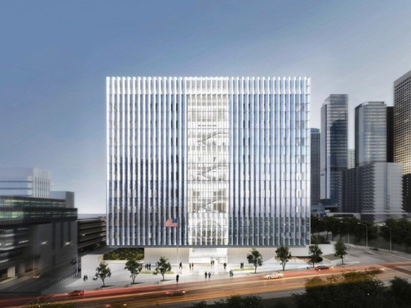 U.S. moves ahead on new downtown L.A. courthouse