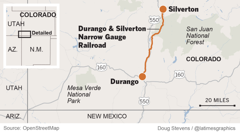 Colorado's scenic railroad