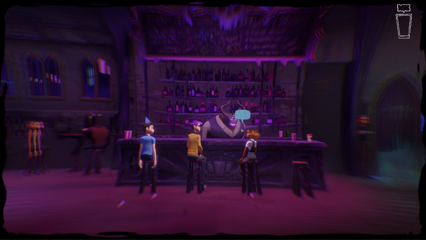 """There are lots of bars in """"Afterparty's"""" depiction of hell."""