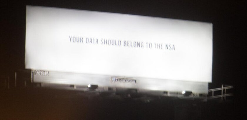 Silicon Valley wonders who is behind mystery NSA billboard