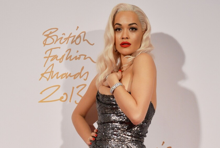 """Singer Rita Ora has reportedly been cast as Mia in the film version of """"50 Shades of Grey."""""""