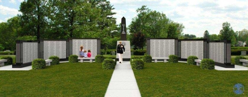 Vietnam veterans are working on building a memorial at Camp Pendleton for 5th Marines who served in Vietnam.
