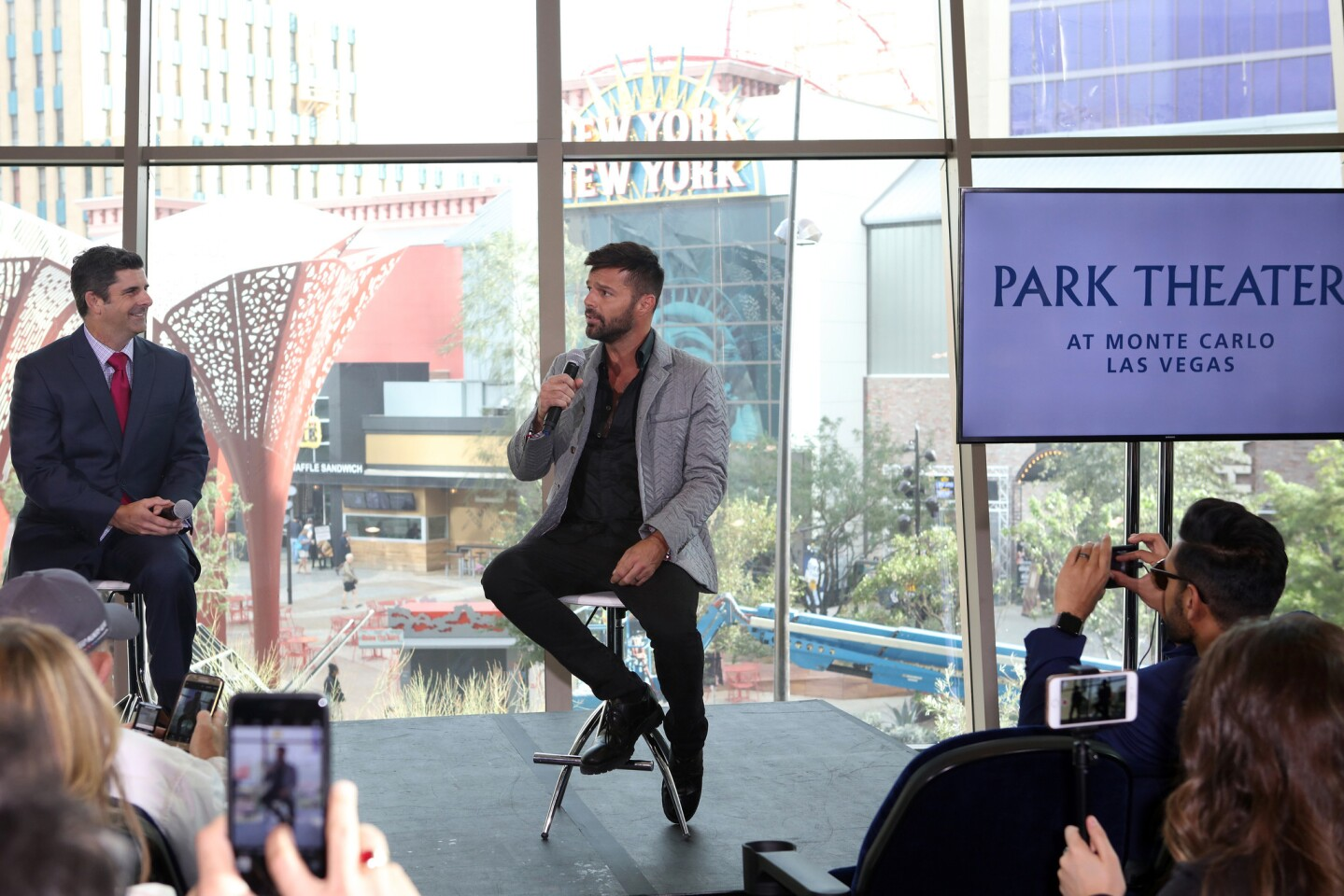 """Live Nation and MGM Resorts announce """"Ricky Martin"""" as their newest resident headliner at the new Park Theater at Monte Carlo on November 16, 2016 in Las Vegas, Nevada. (Photo by © Fanny Garcia/DDPixels)"""