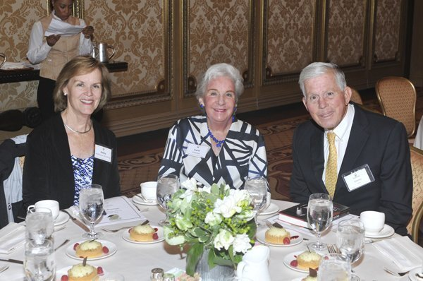 Kathy Hoffmann-Grotting, Carol and Ludlow Keeney