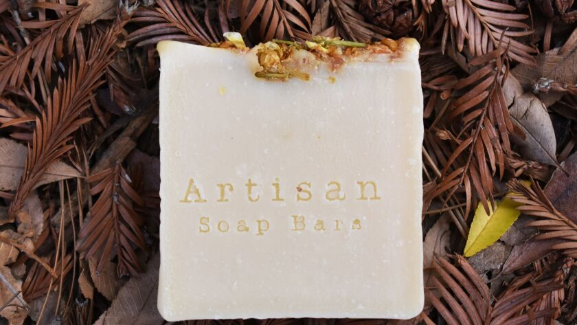 Artisan Soap Bars at Gold Leaf boutique in South Park
