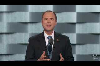 Rep. Adam Schiff of California speaks at the Democratic National Convention