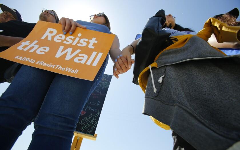 Rally at the border