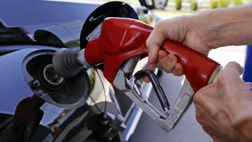 Gasoline prices in Southern California reached their highest since the 2013 holiday season, driven by new taxes and higher crude oil costs.
