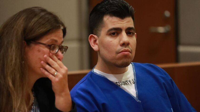 LOS ANGELES, CALIF. -- FRIDAY, SEPTEMBER 21, 2018: Sentencing for Alberto Medina, former Fresno Stat