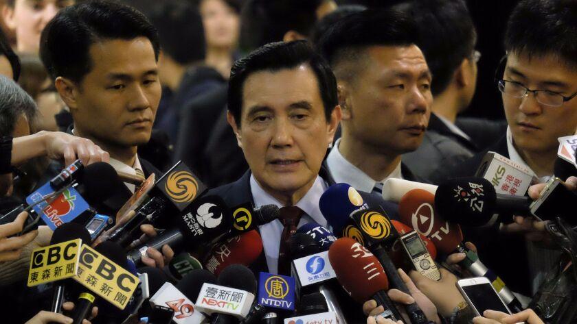 TAIWAN-POLITICS-CORRUPTION-MA