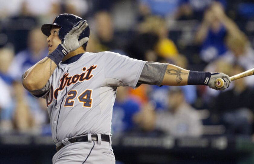 Miguel Cabrera won the first Triple Crown in 45 years.