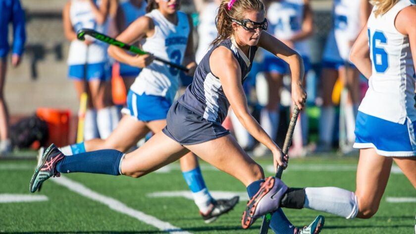 Amanda Collins is heading to Providence College next fall with a field hockey scholarship.