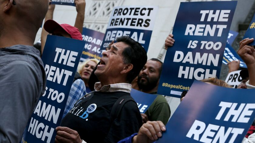 How California has become a national battleground for rent
