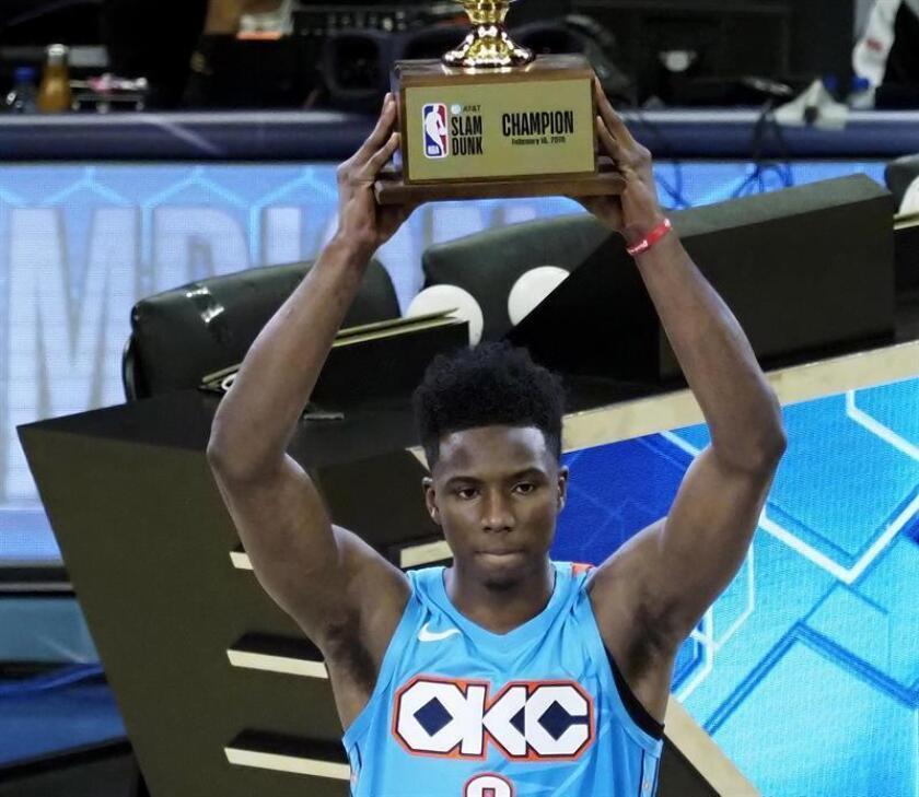 Hamidou Diallo, de los Thunder de Oklahoma City, se convirtió en el nuevo monarca de Mates, al ganar en la final al base Dennis Smith Jr., de los Knicks de Nueva York. EFE
