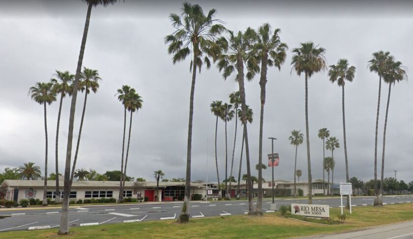 A teacher at Rio Mesa High School used a racial slur in class earlier this week, prompting an official apology from the Oxnard Union High School District.