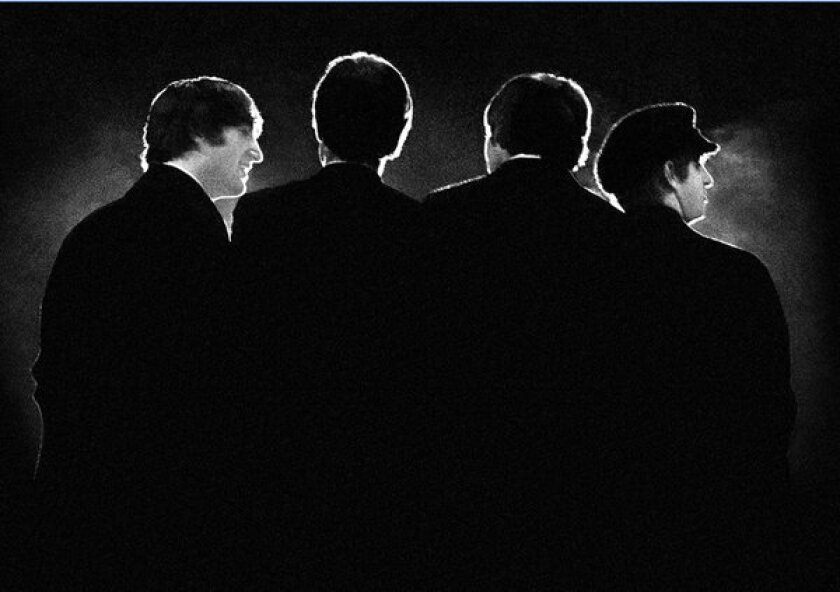 One of the 25 rare Beatles photos that will be on display in New Mexico.