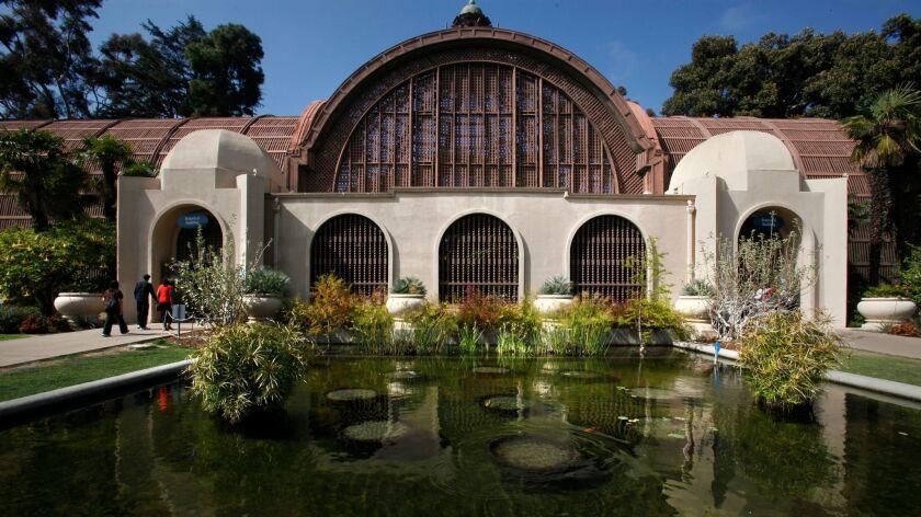 Balboa Park's iconic Botanical Building