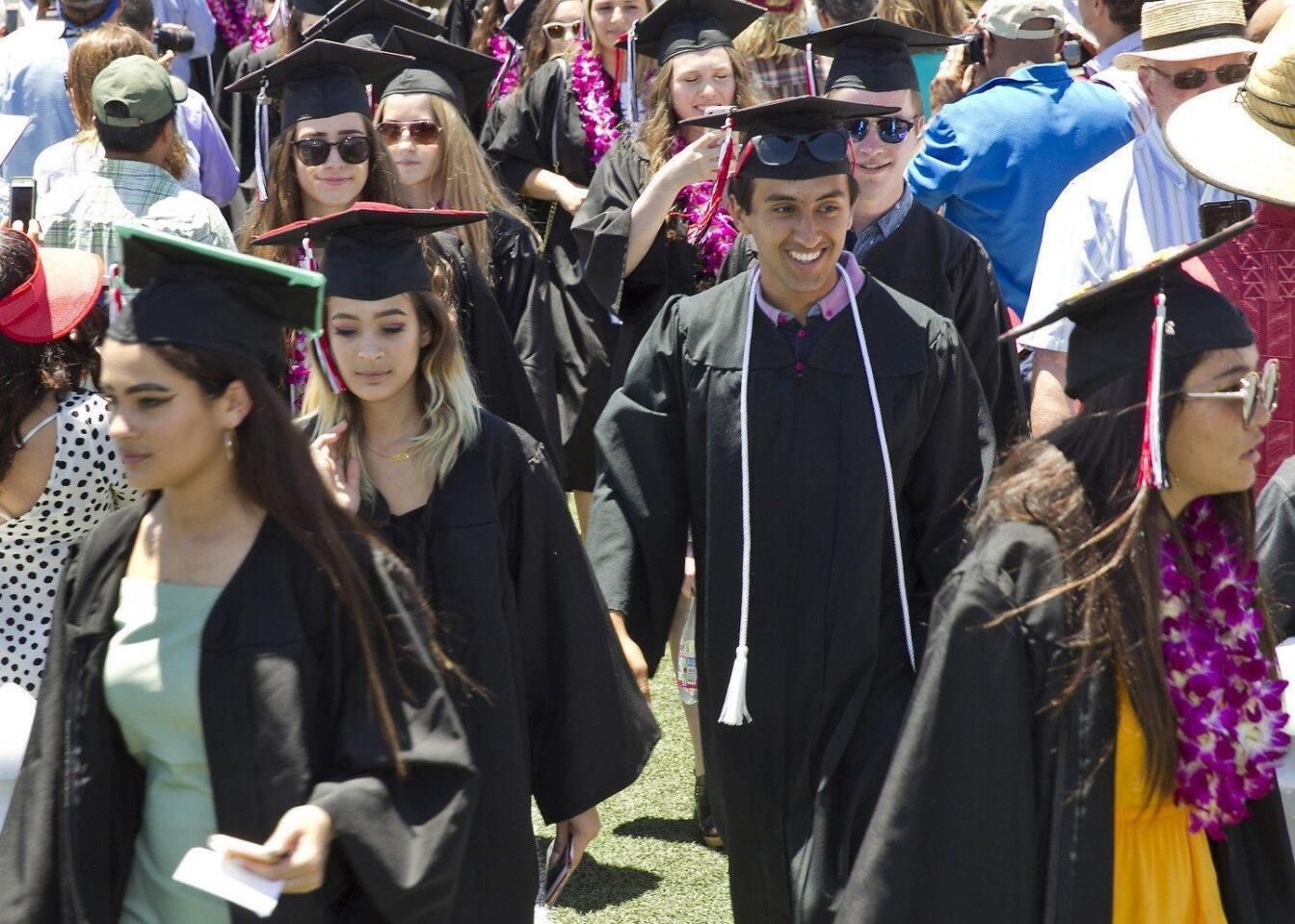 2017 Canyon Crest Academy procession