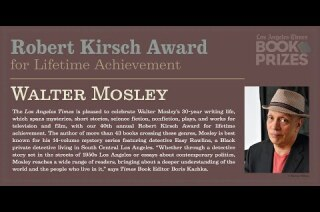 Los Angeles Times Book Prizes: Walter Mosley, Robert Kirsch Award for Lifetime Achievement